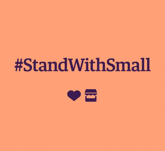 #StandWithSmall with Etsy