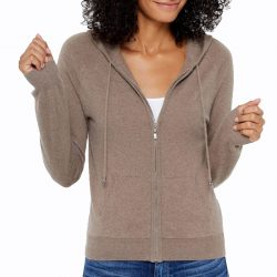 The Review Wire Mother's Day Guide 2020: State Cashmere: Full Zipper Cashmere Hoodie