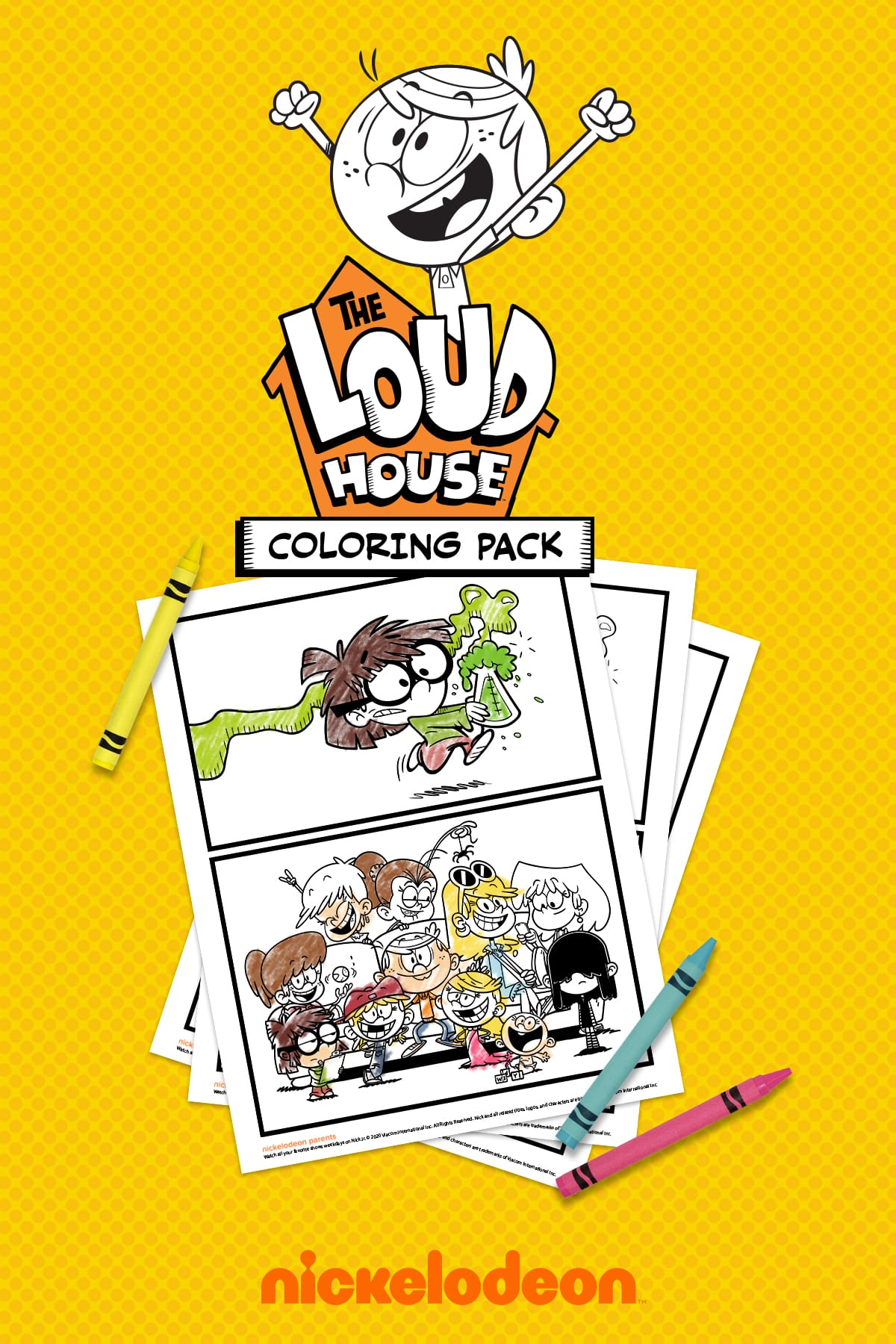 The-Loud-House-Coloring-Sheets