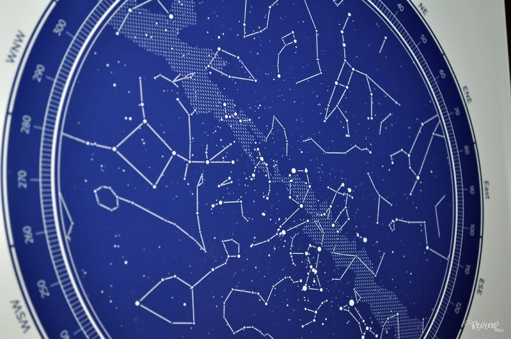 The Review Wire: Under Lucky Stars Map - Upclose View
