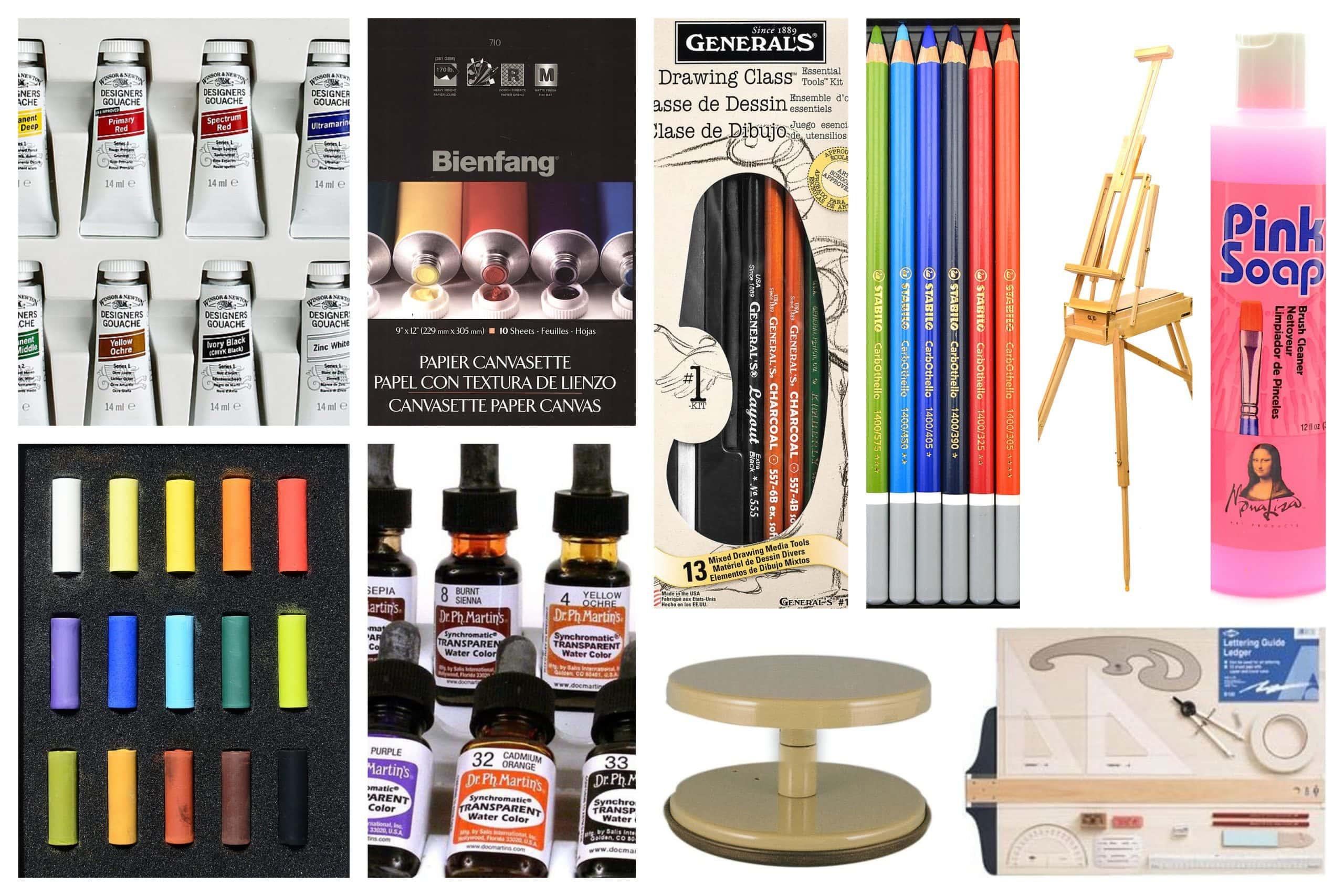 Art Supplies from MisterArt