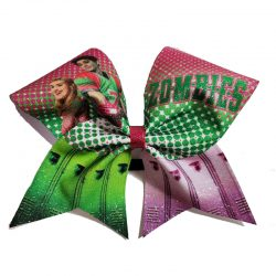 Disney's ZOMBIES inspired Glitter bow