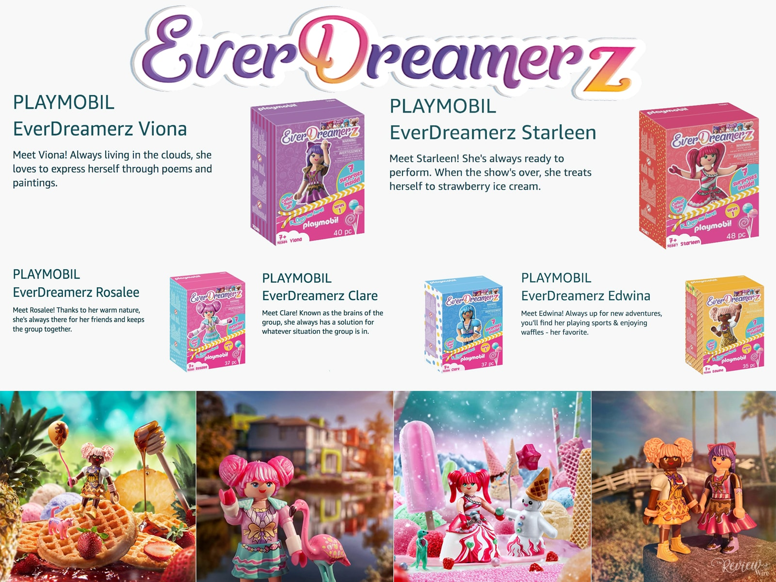 EverDreamerz Characters