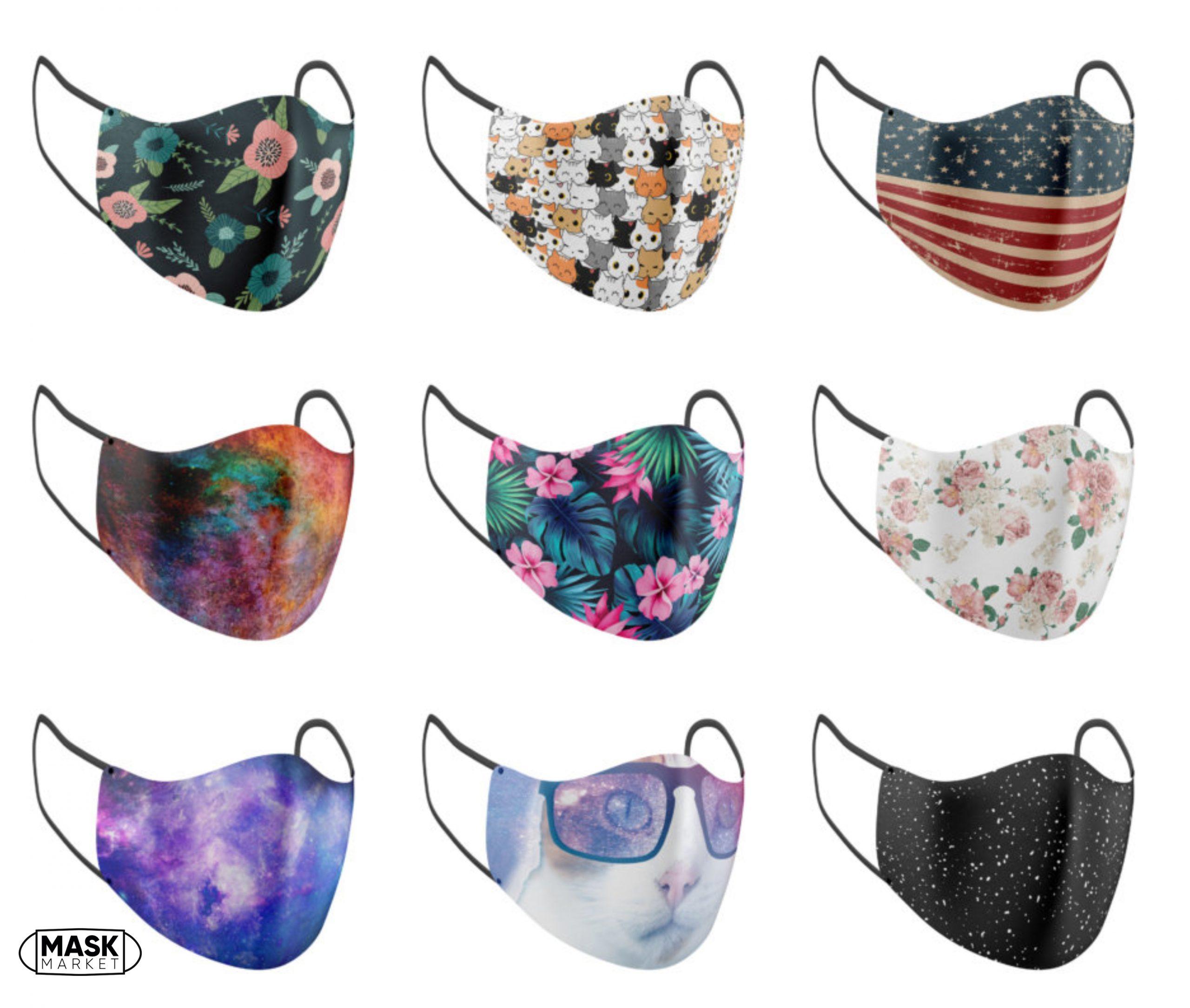 Mask Market: Premade Printed Masks