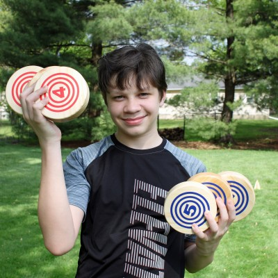 Let's Roll with the Rollors Yard Game for Outdoor Fun