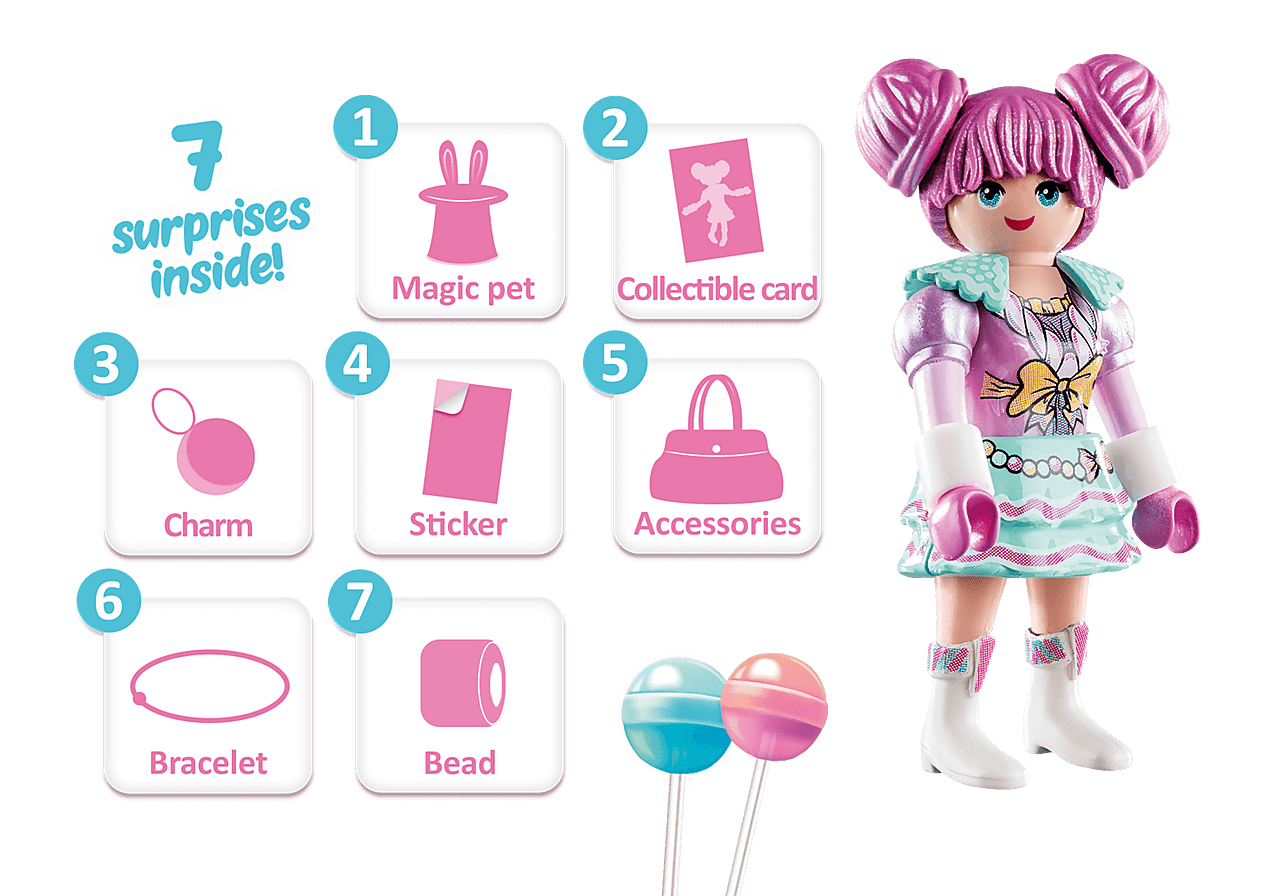 Rosalee - Candy World-What;s Included