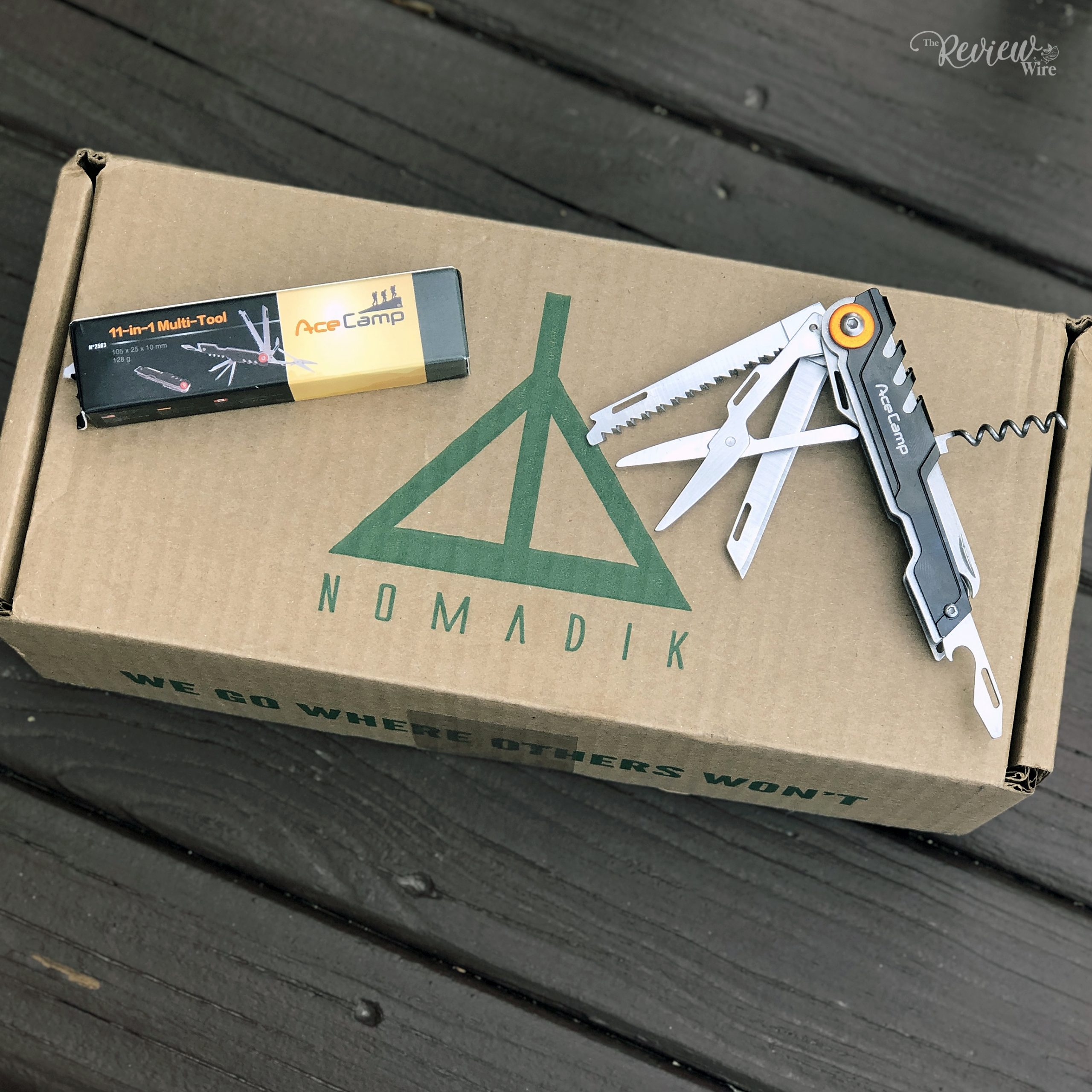 The Review Wire - The Nomadik - Ace Camp 11-in-1 Multi-tool