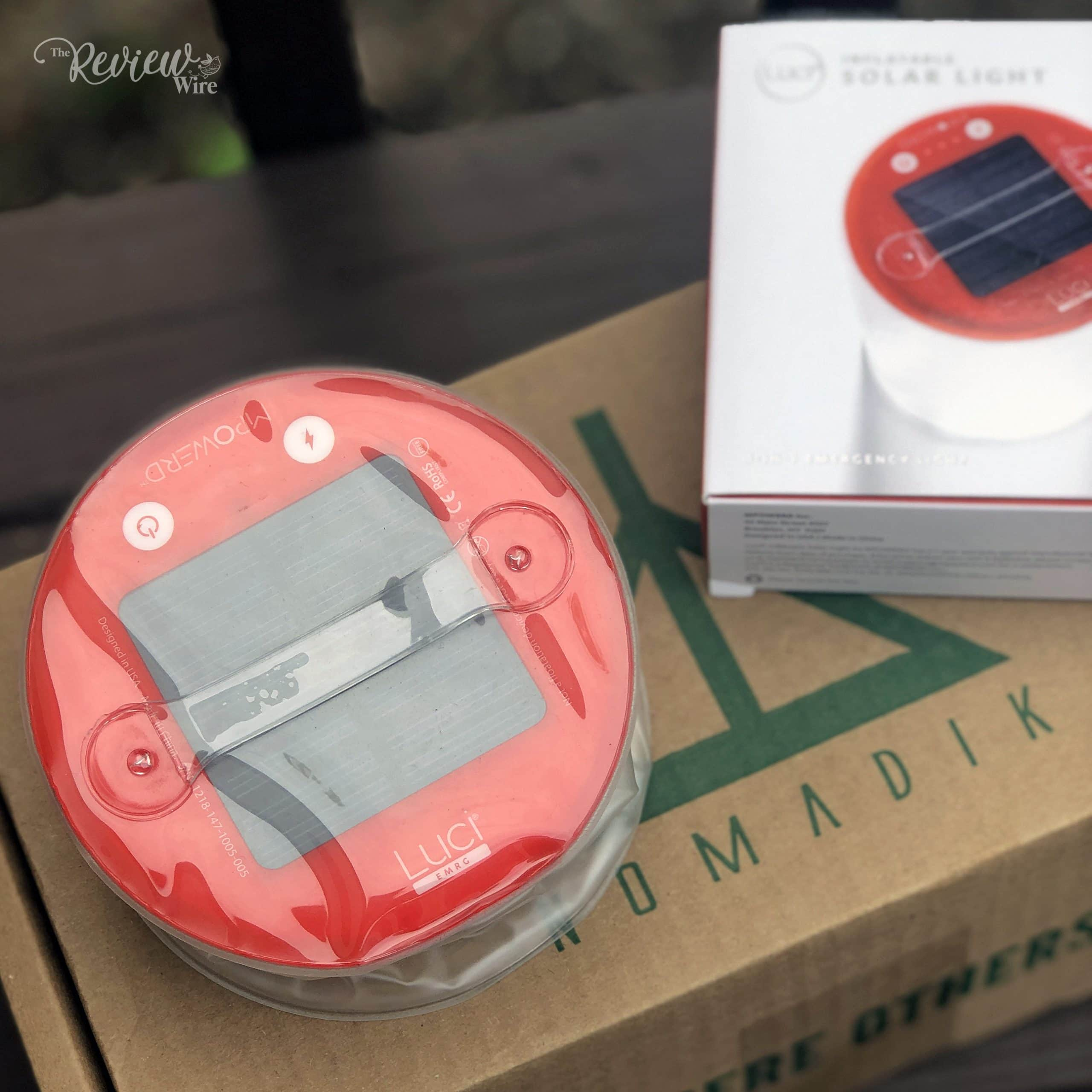 The Review Wire - The Nomadik - MPOWERD Luci EMRG