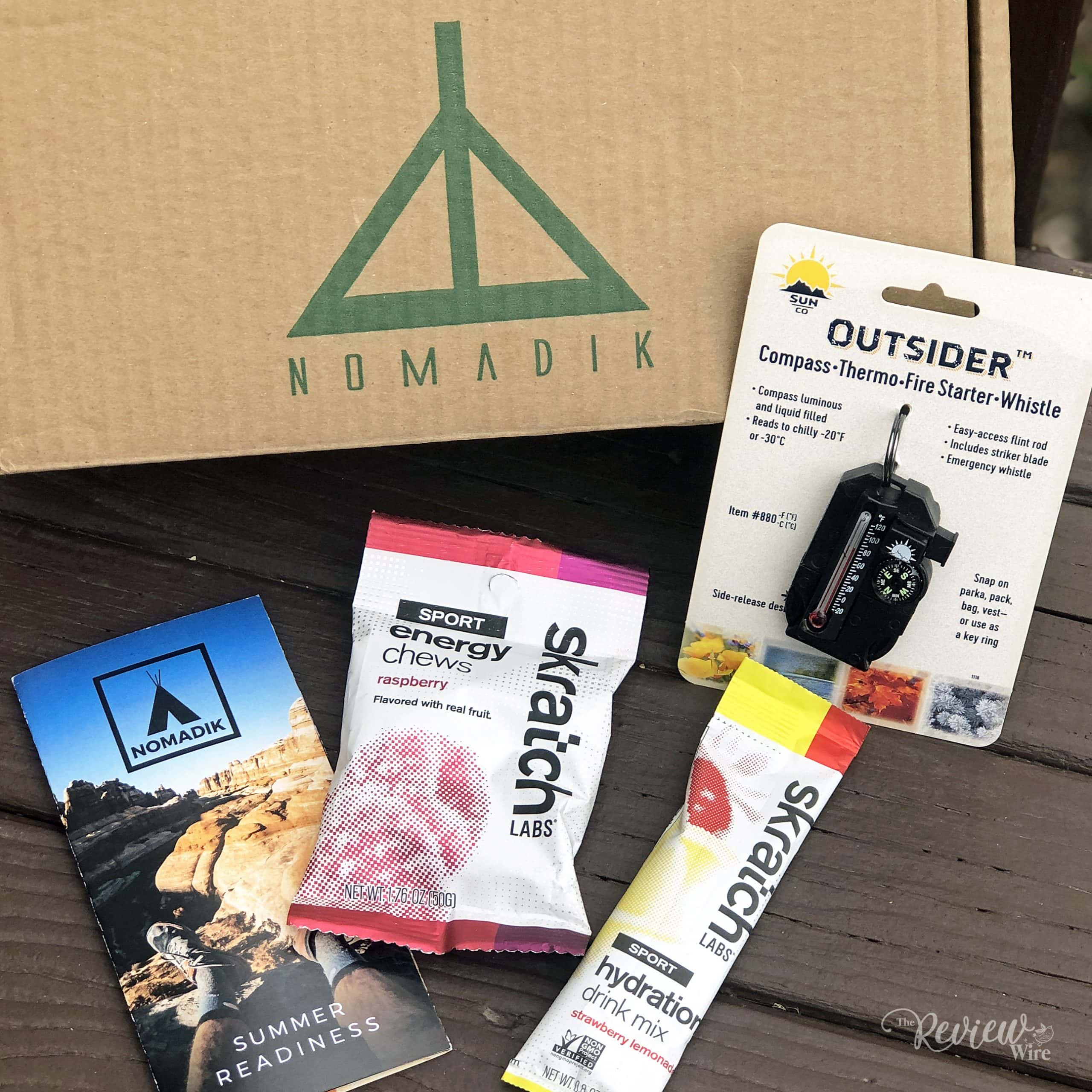 The Review Wire - The Nomadik - Skratch Labs