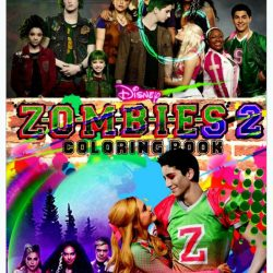 ZOMBIES 2 Coloring Book