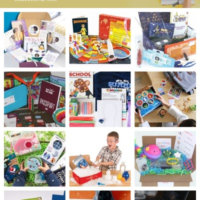 Back-to-School Educational Subscription Boxes