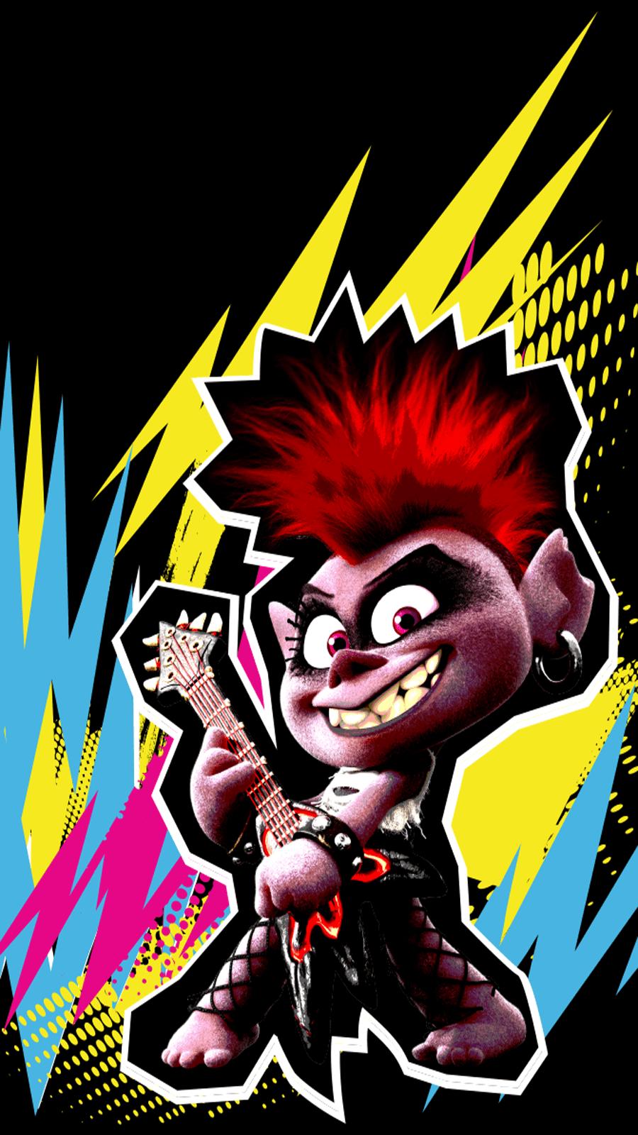 Trolls World Tour - Barb Queen of Rock Wallpaper