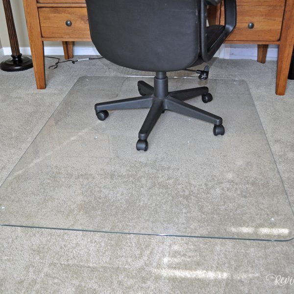 Why Your Home Office Needs a Vitrazza Glass Chair Mat