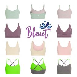 Bleuet Girls Bras & Camisoles - Ultra-Soft & Age Appropriate