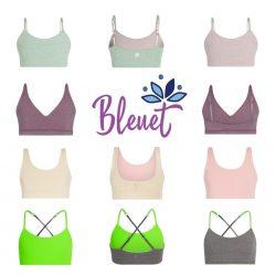 Bleuet Girls Bras & Camisoles - Ultra-Soft & Age Appropriate