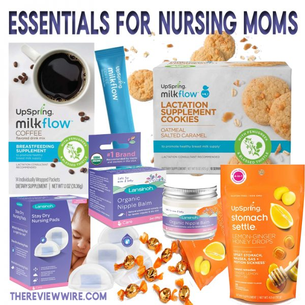 The Review Wire: Essentials for Nursing Moms