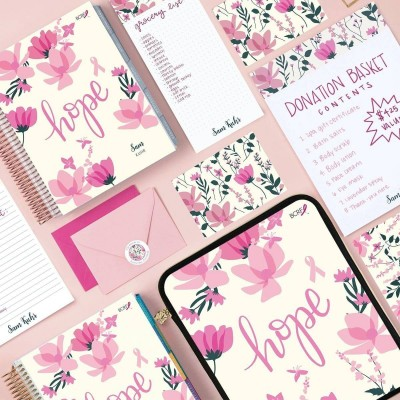 Erin Condren x BCRF Collection for Breast Cancer Awareness Month