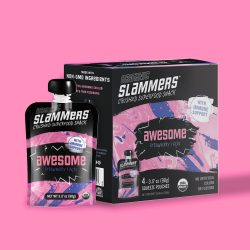 Organic Slammers Snacks Crushed Superfood Snacks