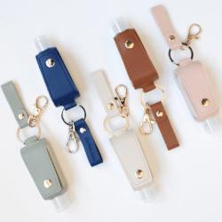 Six Feet Away - Refillable Sanitizer Keychain
