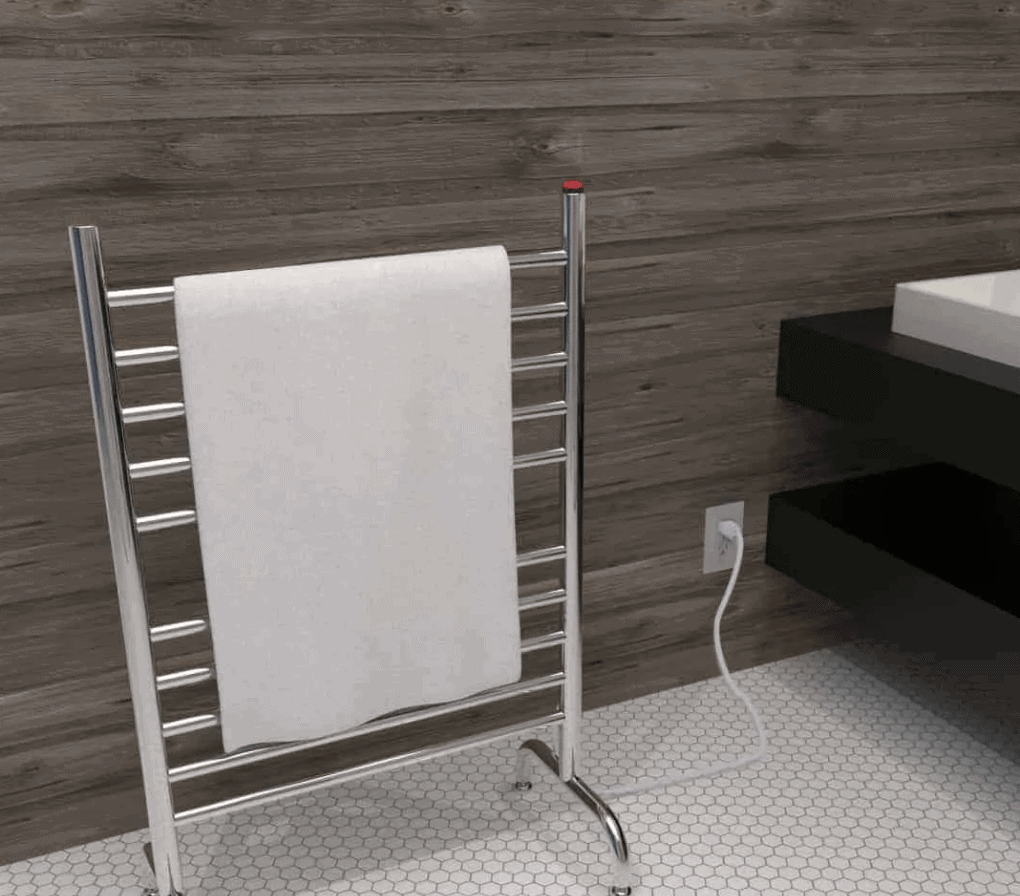 Solo Freestanding Electric Towel Warmer