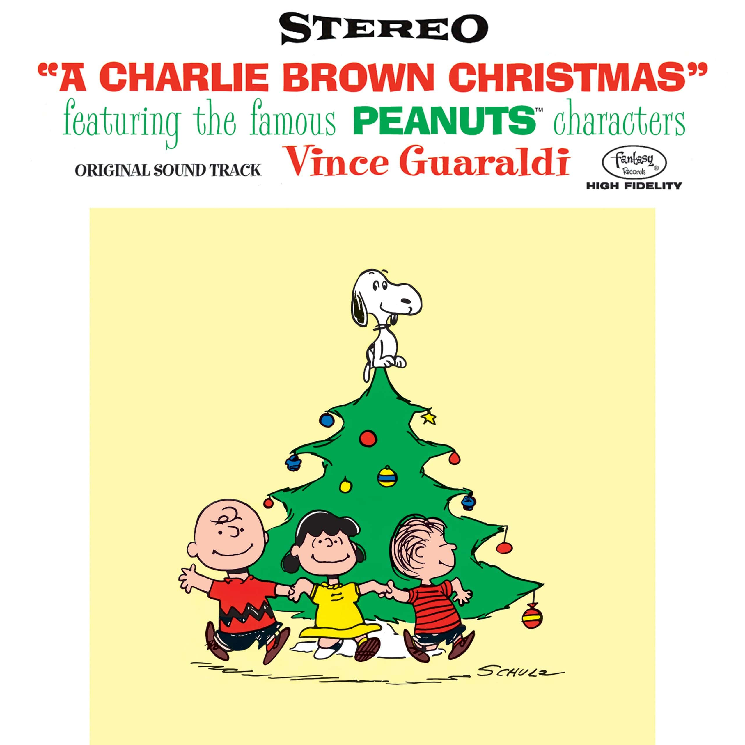 'A Charlie Brown Christmas' album cover