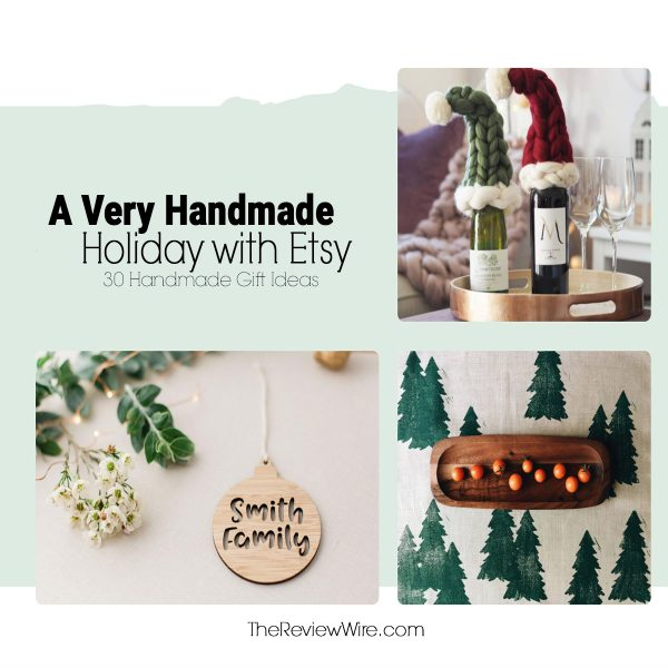 A Very Handmade Holiday with ETSY