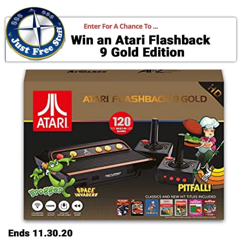 Atari Flashback 9 Giveaway. Ends 11.30.20