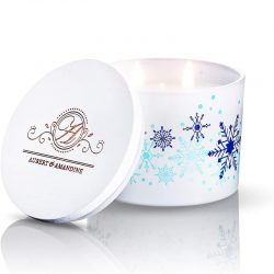 The Review Wire Holiday Gift Guide 2020: Aubert & Amandine Comfort Cinnamon Apple Candle