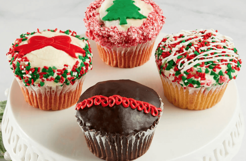 Bake Me a Wish! JUMBO Holiday Cupcakes