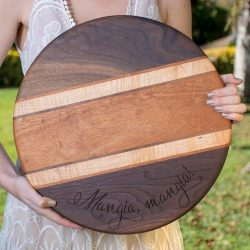 The Review Wire Holiday Gift Guide 2020: Cades & Birch Custom Hardwood Cutting Board