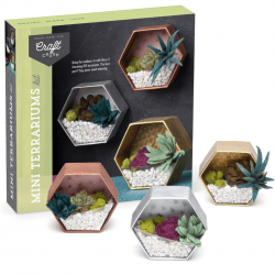 The Review Wire Holiday Gift Guide 2020: Craft Crush Mini Terrariums Kit