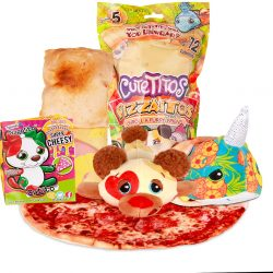 The Review Wire Holiday Gift Guide 2020: Cutetitos Pizzaitos Surprise Stuffed Animals