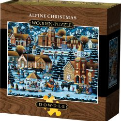 The Review Wire Holiday Gift Guide 2020: Dowdle Alpine Christmas Wooden Puzzle
