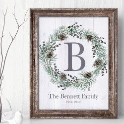 Family Established Sign Printout