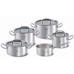 The Review Wire Holiday Gift Guide 2020: Fissler Original-profi collection 9-Piece Set with Glass Lids
