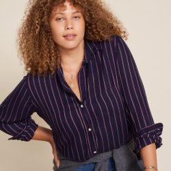 The Review Wire Holiday Gift Guide 2020: Grayson The Hero Kelly Stripes Shirt