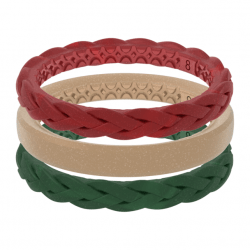 The Review Wire Holiday Gift Guide 2020: Groove Life Holly Stackable Rings