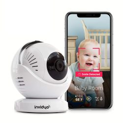 The Review Wire Holiday Gift Guide 2020: Invidyo WiFi Baby Monitor with Live Video and Audio