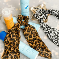 The Review Wire Holiday Gift Guide 2020: Leopard Print Scrunchy Hair Ties