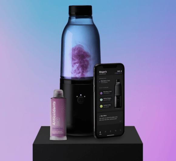 LifeFuels Smart Bottle Beverage Infuser with Tracking App