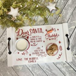 Personalized Santa Tray