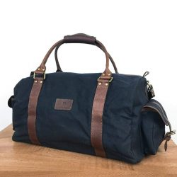 The Review Wire Holiday Gift Guide 2020: Rogue Industries White Cap Waxed Canvas Duffle
