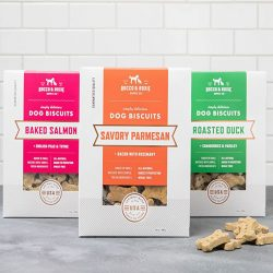 The Review Wire Holiday Gift Guide 2020: Savory Parmesan with Bacon & Rosemary Dog Biscuits