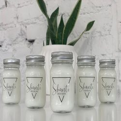 The Review Wire Holiday Gift Guide 2020: Shanti Creations 6 Set Coconut Candles