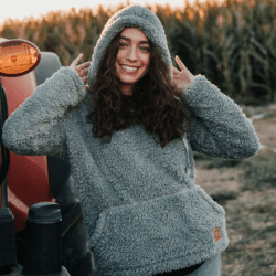 The Review Wire Holiday Gift Guide 2020: Shelly Cove Hooded Sherpa