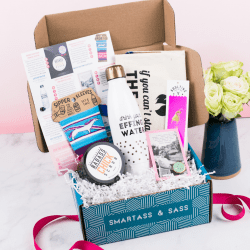 The Review Wire Holiday Gift Guide 2020: Smartass & Sass Monthly Subscription Box for Sassholes