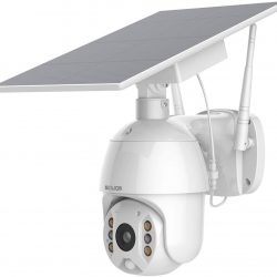 The Review Wire Holiday Gift Guide 2020: Soliom S600 Pan Tilt Outdoor Solar Spotlight Security Camera