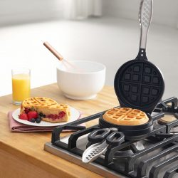 The Review Wire Holiday Gift Guide 2020: Stuffed Waffle Iron from Uncommon Goods