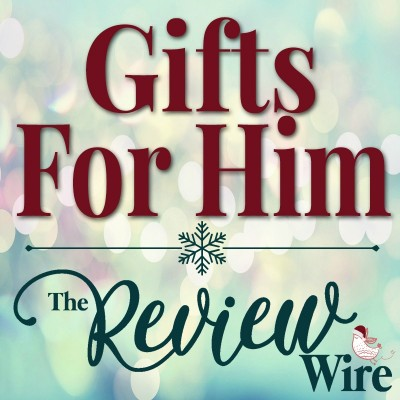 9th Annual Holiday Gift Guide 2020: Gifts for Him #reviewwireguide