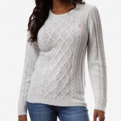 The Review Wire Holiday Gift Guide 2020: U.S. Polo Assn. Mixed Cable Crew Sweater
